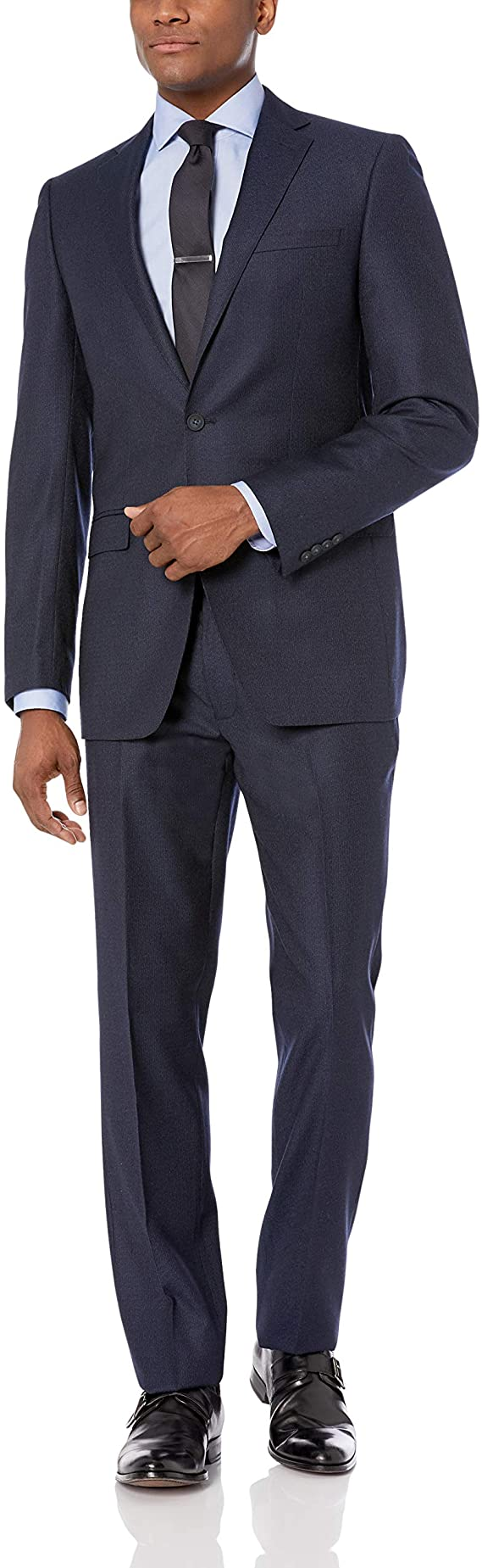 Calvin Klein Men's Stretch Slim Fit Suit