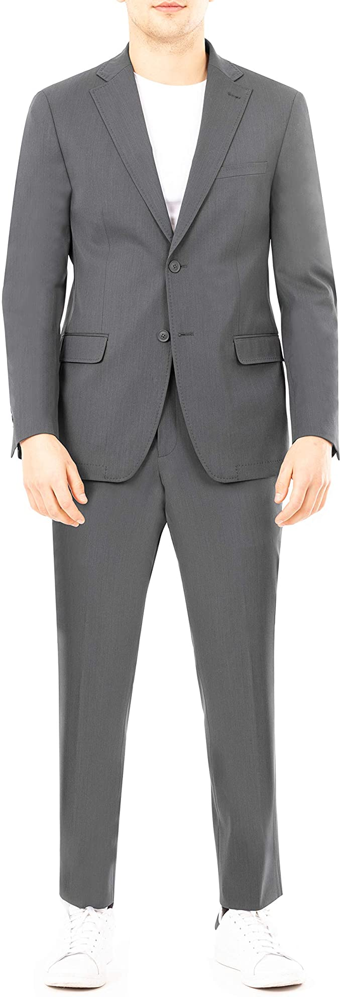 DKNY Men's Active Tailored Suit