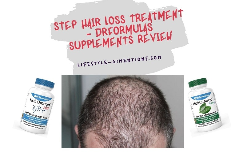 Step Hair Loss Treatment - DrFormulas Supplements Review